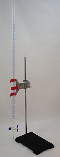 Titration Station Traditional Glass Burette wStand Buret Clamp 50ml