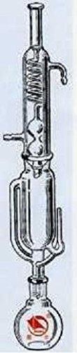 beyondsupply- Glass 250mL Soxhlet Extraction extractor Apparatus Allihn-graham Condenser Flask new