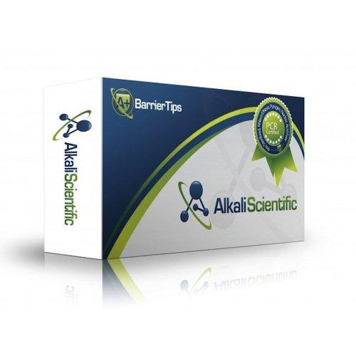 Alkali Scientific AS-BT-10 A Barrier Filter Pipette Tip Polypropylene 10 microliter Volume Clear Pack of 10 Racks 96 TipsRack