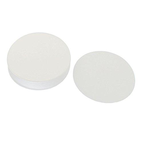 100pcs 11cm Dia Discs Medium Flow Rate 102 Qualitative Filter Paper