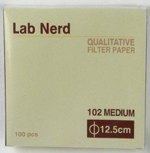 125 cm - 102 Qualitative Filter Paper