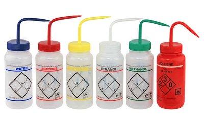 CHEMGLA - Bottle- Wash- Acetone- 500mL- Polyethylene  EA1