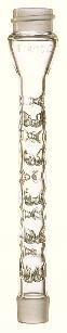 746150-0000 - Microscale Vigreux Distillation Column - KONTES Distillation Column Vigreux Microscale Kimble Chase - Case of 1