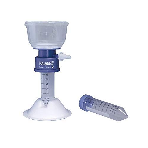 Nalgene 564-0020 Polystyrene Conical 50mL Filter Tube Supor machV PES Membrane 02 Micron Case of 12