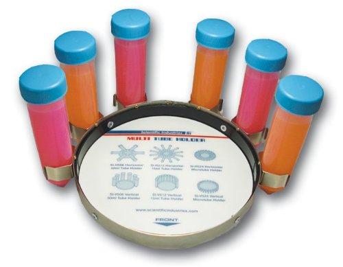 Scientific Industries SI-V506 Vertical Tube Holder for Vortex-Genie 2 and Vortex-Genie Pulse Mixers Holds Six 50mL Tubes