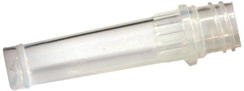 Biologix 81-0054-500 Clear Medical Grade Polypropylene Microcentrifuge Screwcap Tube 05mL Capacity More than 20000xg RCF Box of 500
