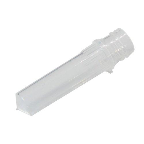 Biologix 81-0203-2K Medical Grade Polypropylene Microcentrifuge Screwcap Tube 2mL Capacity More than 20000xg RCF Clear Box of 2000