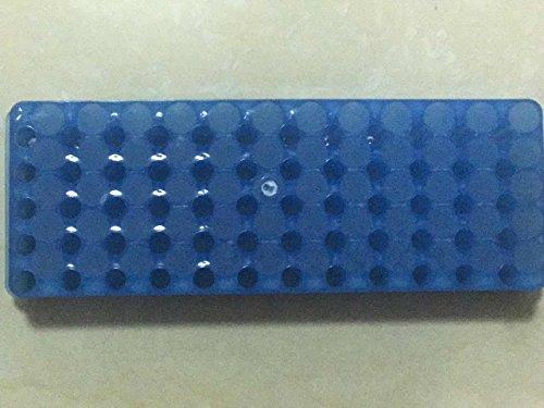 Plastic Rack for Micro Centrifuge Tubes 60-Hole Double-Sided Frame 05ml  15ml  2ml