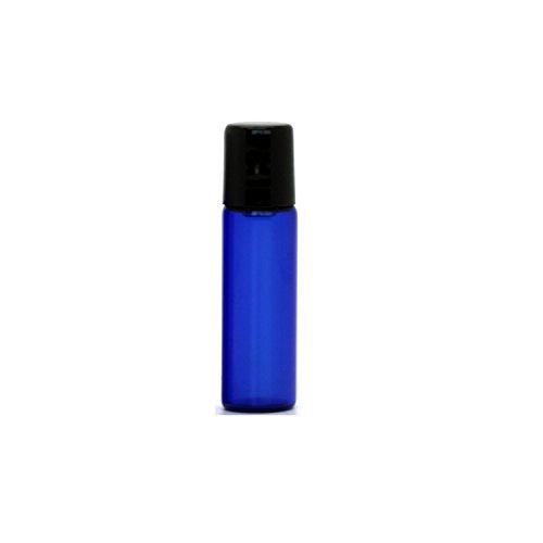 Cobalt Blue Glass 5ml Essential Oil Roll On Bottles with Metal Steel Roller Balls
