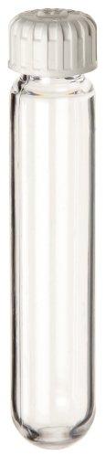Nalgene 3138-0010 Polycarbonate 10mL Oak Ridge Centrifuge Tube with Sealing Cap PPSilicone Gasket Translucent Pack of 10