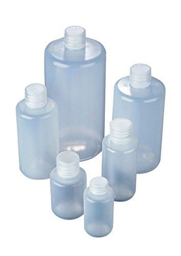 AZLON BNL0030PN Plastic Bottle with Narrow Neck Polypropylene Screw Caps LDPE 30 ml Pack of 10