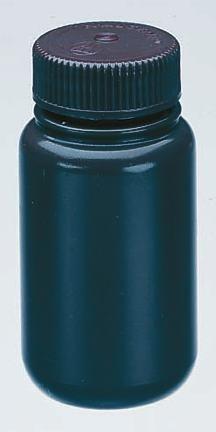 Nalgene Amber Wide-Mouth HDPE Sample Bottles 125mL 4 oz