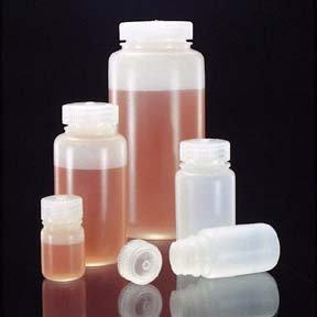 Nalgene Translucent HDPE Sample Bottles Capacity 16 oz