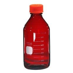 Pyrex Media Bottles 1000mL Low Actinic with GL-45 Screw Cap case4
