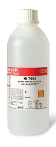Hanna Instruments HI7004L 401 pH Calibration Buffer Solution 500mL Bottle