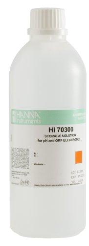 Hanna Instruments HI70300L pHORP Electrode Storage Solution 500mL Bottle