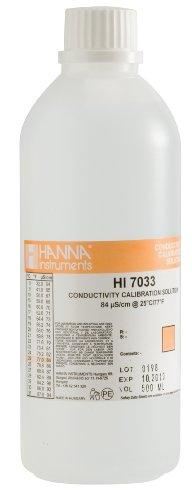 Hanna Instruments HI7033L 84 µScm Conductivity Calibration Solution 500mL Bottle