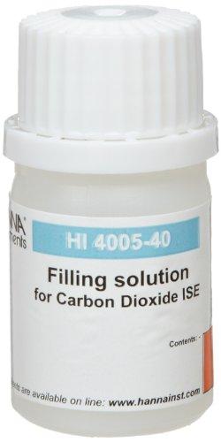 Hanna Instruments HI4005-40 Carbon Dioxide Filling Solution 30mL Bottle Pack of 4