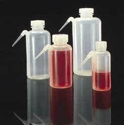 Nalge Nunc Unitary Wash Bottles Low-Density Polyethylene Wide Mouth NALGENE 2402-0125