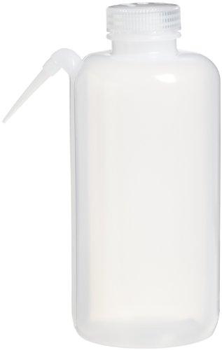 Nalgene 2402-1000 Unitary Wash Bottle  LDPE 1000mL Pack of 2