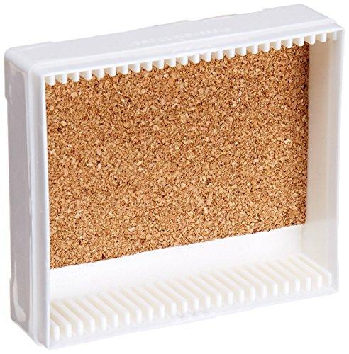 C A Scientific - Premiere 97-0025 White ABS Plastic Microscope Slide Box