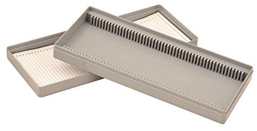 Eisco BI0114C Slide Box Polystyrene 50 Slides