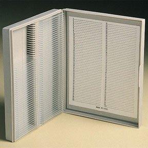 Fisherbrand Polypropylene Microscope Slide Boxes Polypropylene Capacity 100 Slides