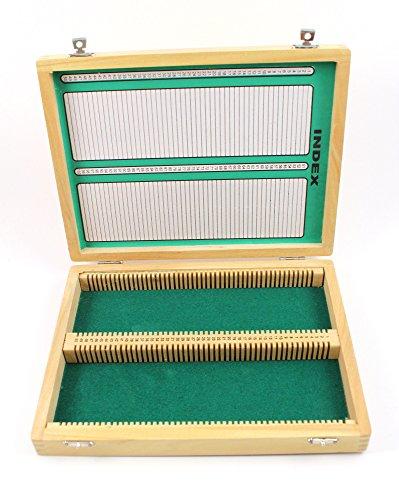 Wooden Microscope Slide Storage Box 100 Slots