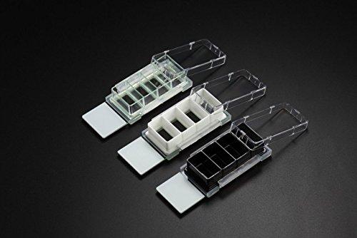 Nest Scientific Cell Culture Chamber Slides 4 well wglass slide Clear 213 cm2 05-13ml 6pk 12cs