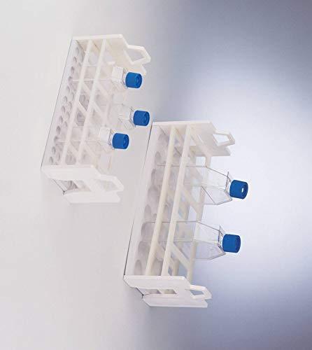 Bel-Art F18970-0002 Tissue Culture Flask Rack 5 Places 260ml Flasks Plastic